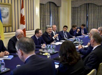 Стратегическое партнерство: депутаты парламента Канады полностью поддержали Порошенко в вопросе ужесточения санкций против России