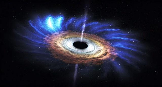 К такому повороту не были готовы даже ученые NASA: из черной дыры вылетел неопознанный космический объект