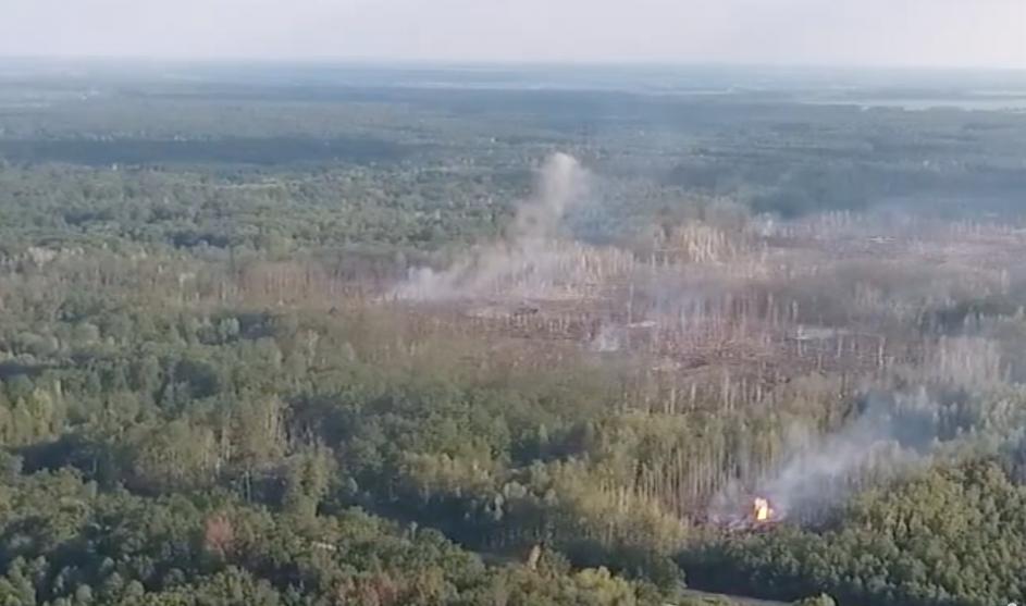 Взрывы боеприпасов на складе в Калиновке полностью прекратились: 10-километровая зона возле арсенала тщательно проверяется спасателями — ГСЧС