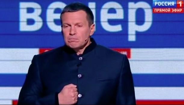 Пропагандист Соловьев, у которого обнаружилась дорогущая вилла в Италии, снова учит россиян «патриотизму». Кадры