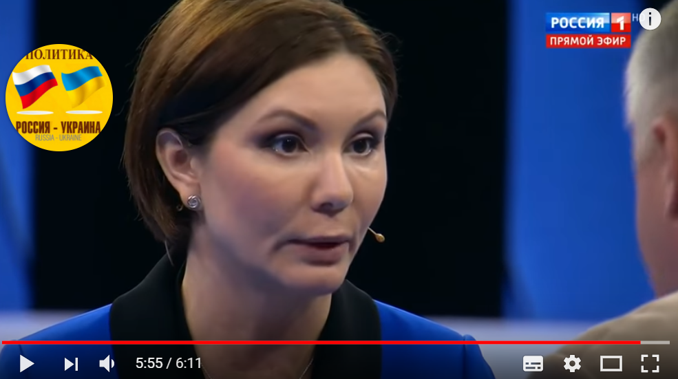 Бондаренко бросилась оскорблять Украину на российском ТВ из-за Донбасса: в Сети опубликовано видео истерики одиозной «регионалки» — кадры