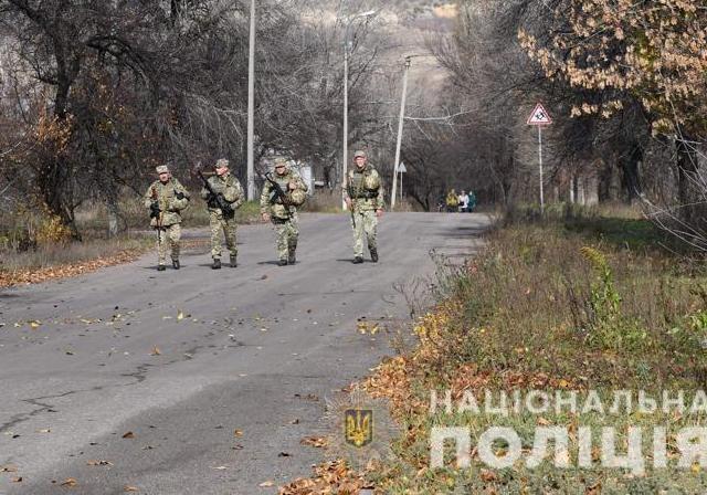 Разведение сил в Золотом: полиция контролирует выезд и въезд в город