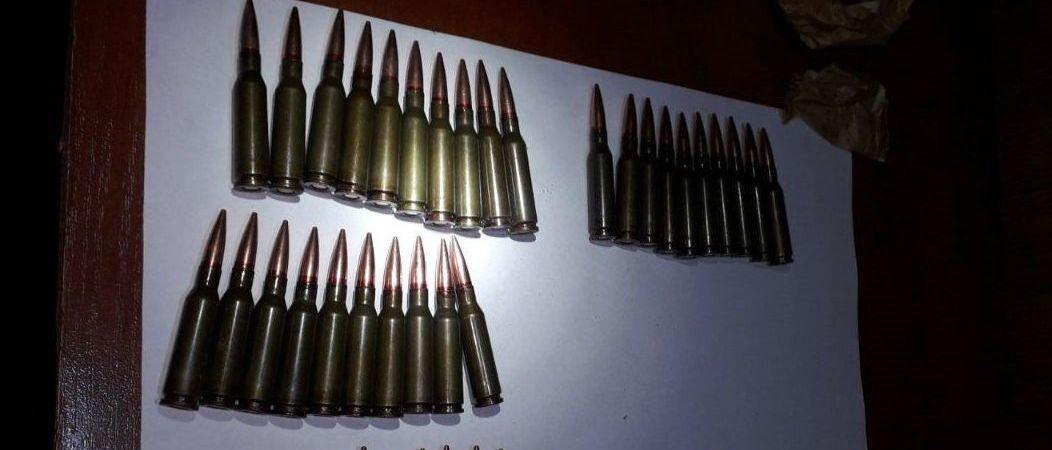 В Славянском районе на блокпосту у пассажира авто обнаружили боеприпасы