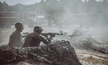 Украина начала военные учения в районе админграницы соккупированным  Крымом