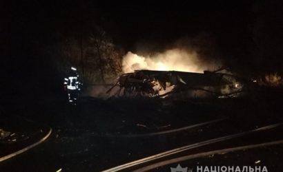 Крушение военного самолета под Харьковом: в МВД заявили о 20-ти погибших