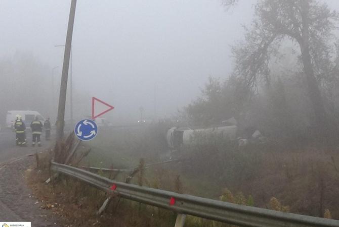 В Венгрии разбился микроавтобус с украинцами: пострадали 7 человек