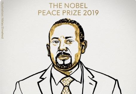 Нобелевскую премию мира 2019 получил премьер-министр Эфиопии