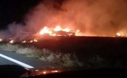 Под Харьковом упал военный самолет: на борту были курсанты