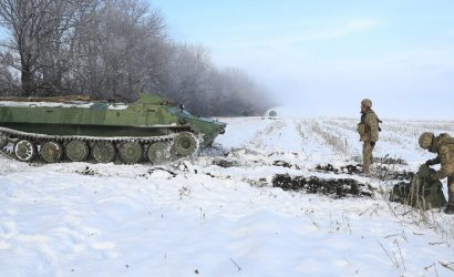На одном из самых опасных направлений: В штабе ООС показали тренировку противотанковых резервов (Фото)