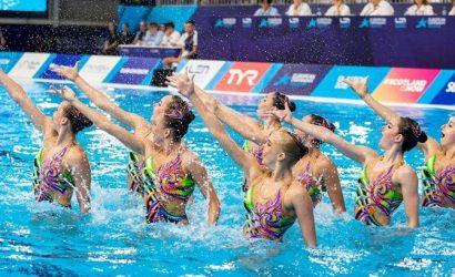 Сборная Украины выиграла золото на Чемпионате Европы по синхронному плаванию