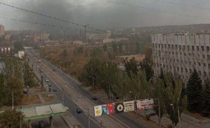 «Слышал два взрыва»: В Донецке обсуждают пожар на «Контуре» (Фото)