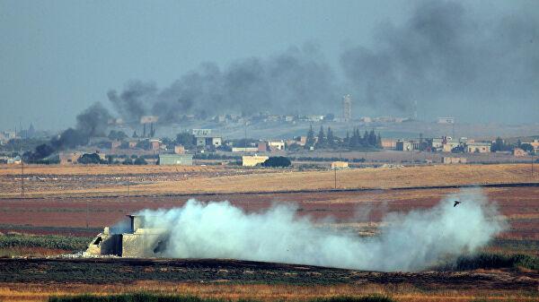 Турецкая армия начала наземное наступление в Сирии
