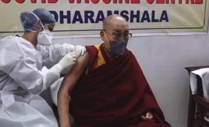Далай-лама и его приближенные привились Covishield