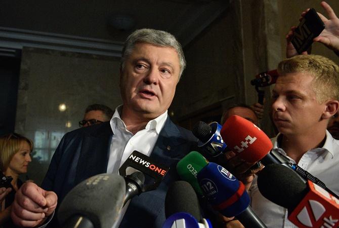 «Ангел», угрожавший убийством Порошенко, не открывает дверь, а экс-президент не пишет заявление