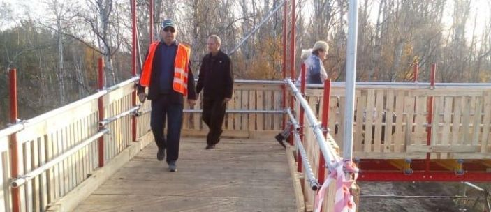 У Зеленского планируют закончить ремонт моста у Станицы Луганской раньше срока