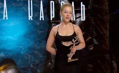 Тина Кароль на получении статуэтки YUNA упрекнула организаторов, что ее долго не номинировали