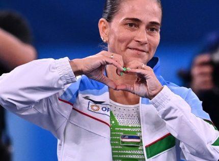 На Олимпиаде в Токио завершила карьеру 46-летняя гимнастка из Узбекистана