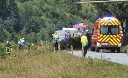 Во Франции разбился туристический самолет, трое погибших