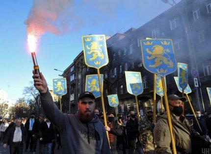 Офис президента осудил марш в честь дивизии СС «Галичина» и потребовал ответа от мэра Киева