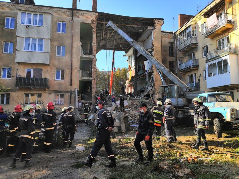 В горсовете назвали причину обвала дома в Дрогобыче