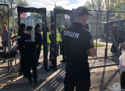 В Одессе 2 мая усиленно будут дежурить 2,5 тысячи правоохранителей