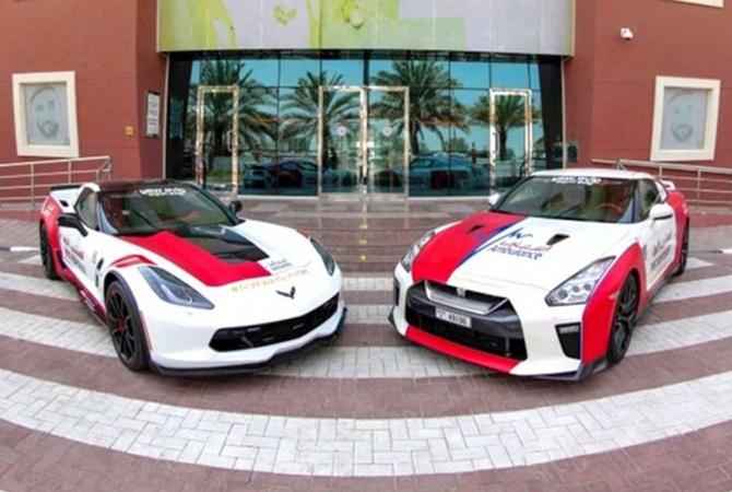 В Дубае скорая помощь будет ездить на суперкарах