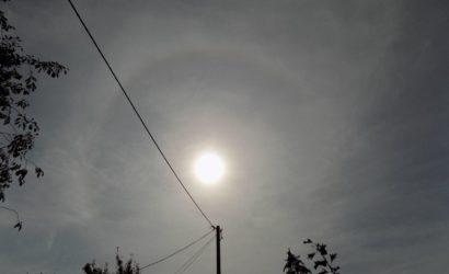 Над винницким селом видели двойное Солнце