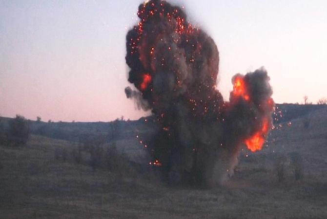 В Одесской области под спортплощадкой школы нашли больше 300 снарядов