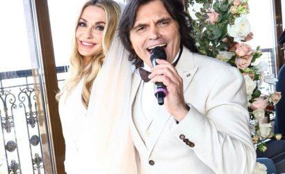 В чем звезды замуж идут: Сумская в фате на серебряную свадьбу, а экс-«холостячка» сшила наряд сама