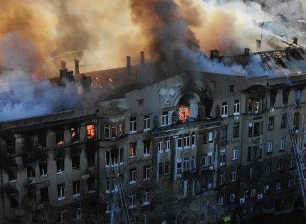 Дело о пожаре в одесском колледже передали в суд