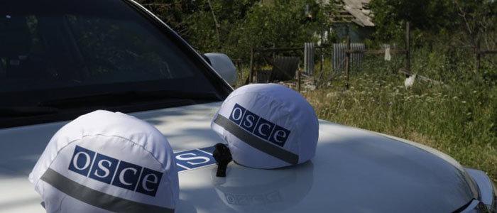 ОБСЕ фиксирует военное присутствие на участках разведения в районах Петровского и Золотого