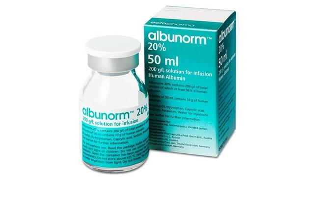 В Украине запретили французский препарат «Альбунорм»