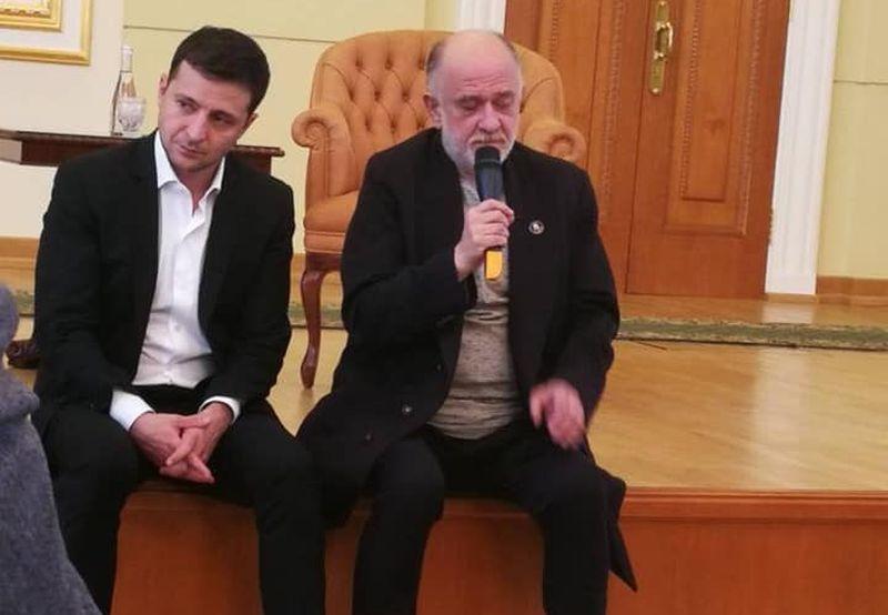 Зеленский встретился с деятелями культуры и спорта