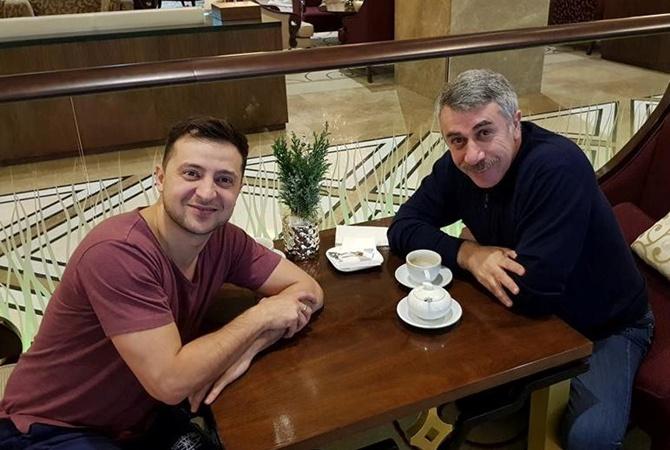 Комаровский раскритиковал журналистов за вопросы Зеленскому на пресс-марафоне