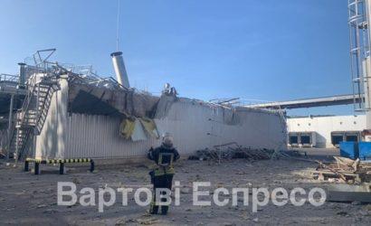 Во время сварочных работ на киевском заводе Carlsberg Ukraine произошел взрыв