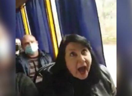 Жизни от вас нет: В маршрутке в Славянске ругались из-за масок и украинского языка