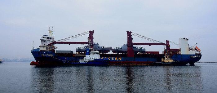 «Славянск» и «Старобельск»: Американские катера типа ISLAND прибыли в Украину (Фото)