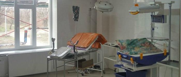 В Константиновке отремонтировали родильное отделение (Фото)