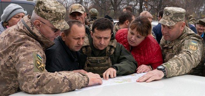 В Кремле прокомментировали поездку Зеленского на Донбасс