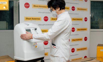 В больницах Мариуполя используют кислородные концентраторы, переданные Фондом Рината Ахметова