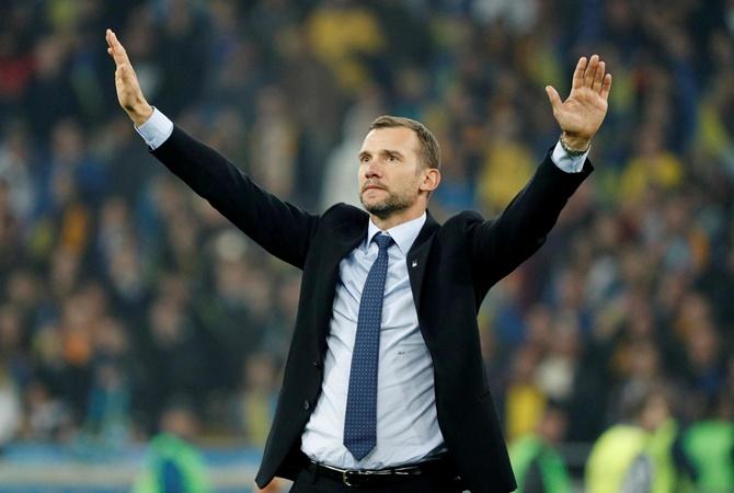Андрей Шевченко: «Я обещал, что мы выйдем на Евро и вот теперь мы едем туда»