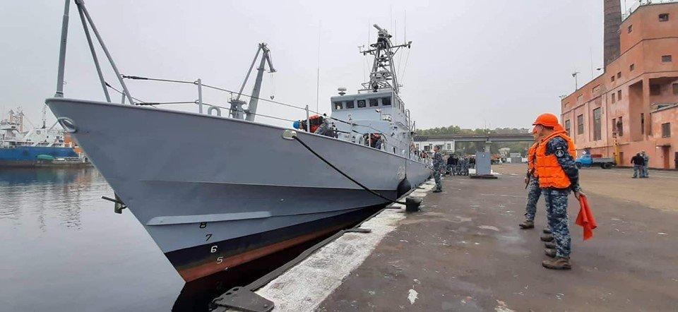 «Славянск» и «Старобельск»: Катера украинских ВМС прибыли в военную гавань