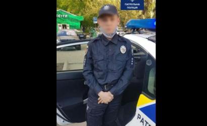 Юный супергерой: в Запорожье парень переодевался в полицейского и наводил порядок