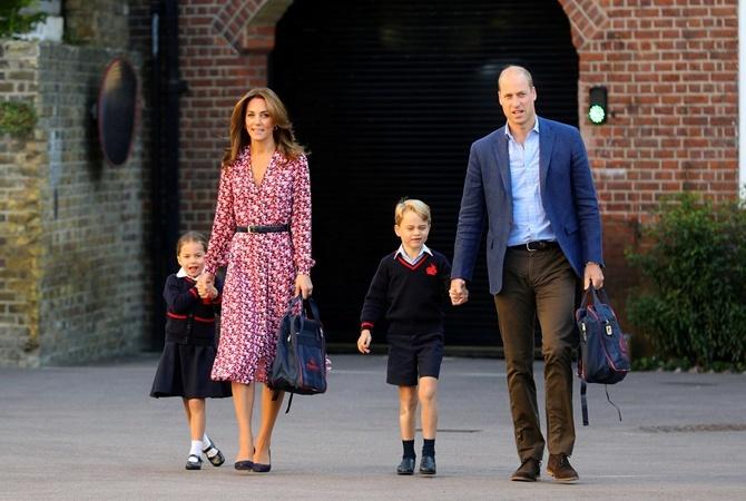 Герцоги Кембриджские готовятся к Хэллоуину и каникулам в загородной резиденции