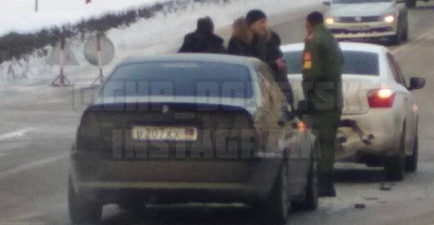 Второго водителя увезла «скорая»: В Донецке курсант «МВД» стал виновником аварии (Фото)