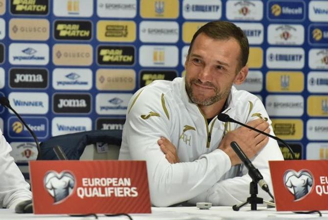 Андрей Шевченко: «Роналду делает праздник футбола для украинских болельщиков»
