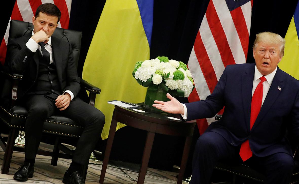 Опубликована стенограмма первой беседы Трампа и Зеленского