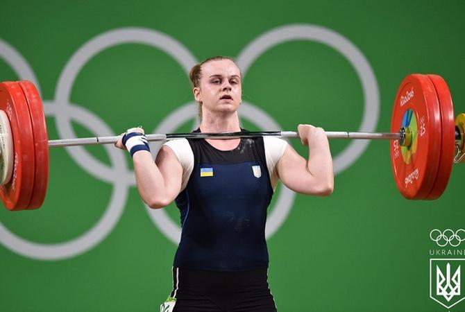 Украинка Деха стала абсолютной чемпионкой Европы по тяжелой атлетике