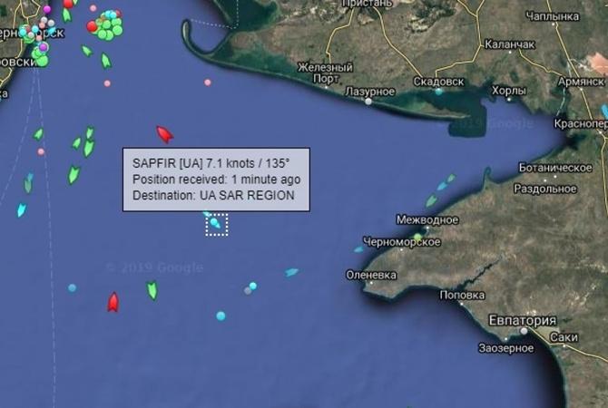 Украина отправила буксиры за кораблями, захваченными в Азовском море