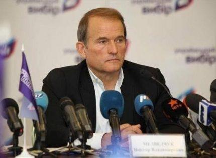 Медведчук: Подозрение мне не вручали, но дали ознакомиться